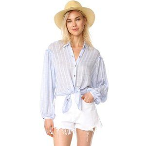 Free People Headed to the Highlands Button Down XS